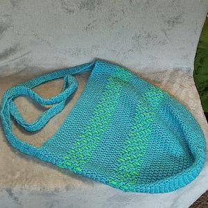 Handbags - Crocheted Tote Bag